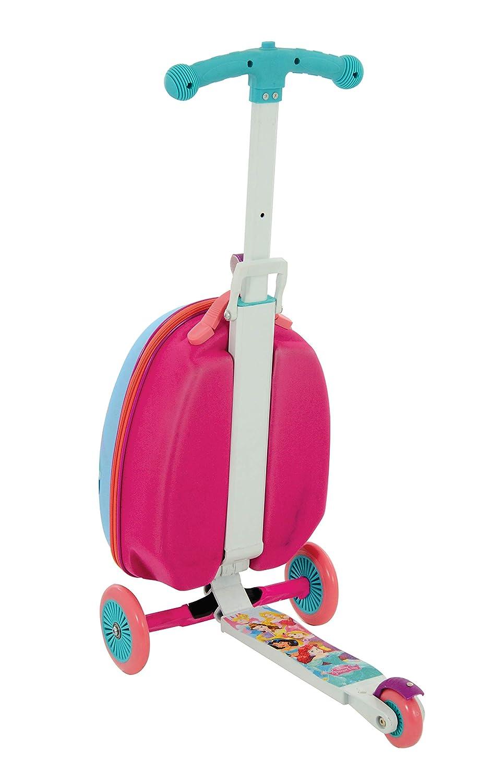 Amazon.com: Disney Princess M14377-01 Scootin Suitcase ...
