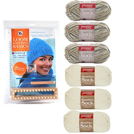 Amazon Authentic Knitting Board Loom Knitting Basics Kit