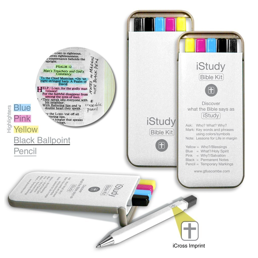 iStudy Bible Kit Highlighters Mechanical Image 2