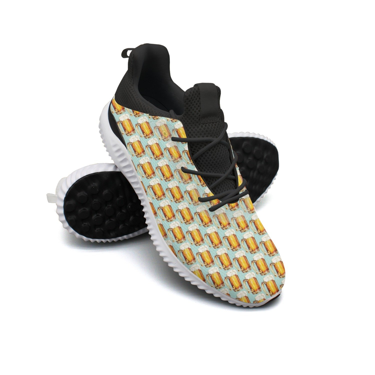Beer Glasses Leisure Design Running Shoes Woman's Neutral Climbing Gift