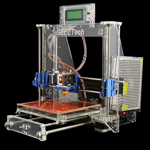 7 opinioni per Ridgeyard completi trasparente stampante alluminio 3D per RepRap Prusa i3 MK2A