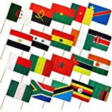 amazon com 30ft string flag set of 20 african country flags
