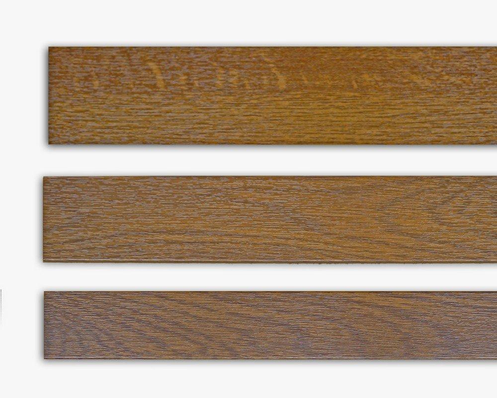 Fensterleiste Golden Oak - Goldeiche 30 mm breit 6m lang Flachleiste Abdeckleiste Dekor Leiste farbig fenster-hammer