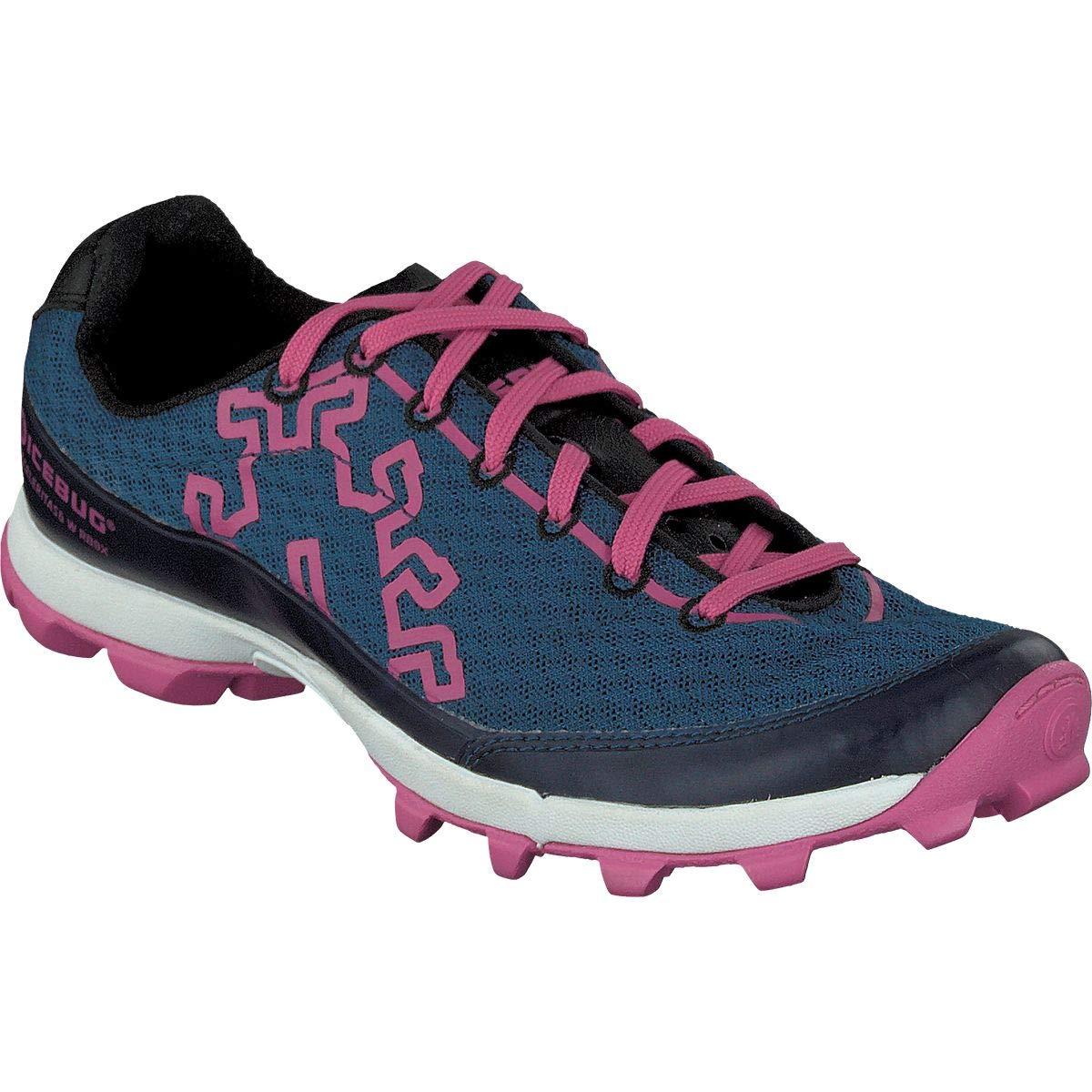 Icebug Womens Acceleritas6 Running Shoe Deep Blue//Scarlet