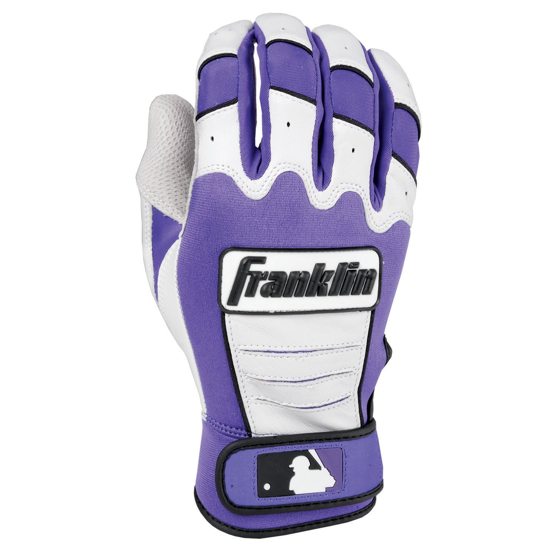 Franklin (フランクリン) スポーツ MLB CFX Pro バッティング グロ―ブ B00H30LPTA Adult Medium|Pearl/Purple Pearl/Purple Adult Medium