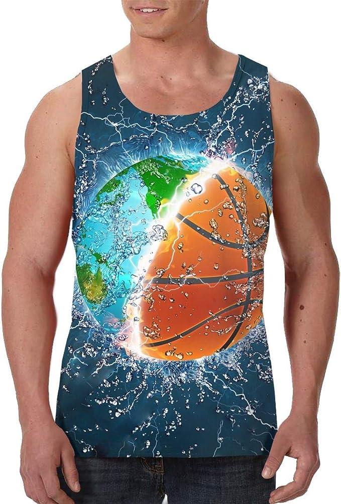 Camisetas sin Mangas con Estampado gráfico para Hombre Balón ...