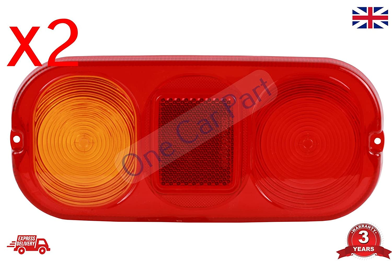 700//50024 x 2 Par de luces traseras JCB 3CX PROJECT 12 y 21