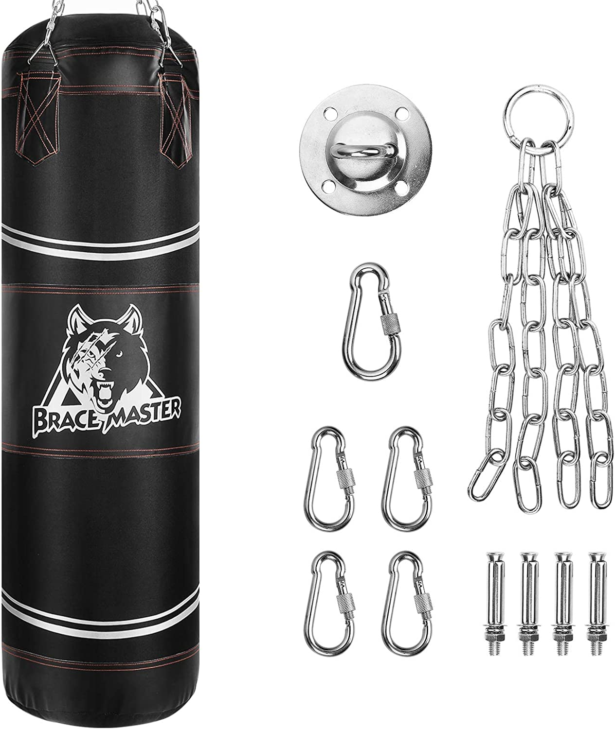 cheap unfilled Brace Master Boxing Bag