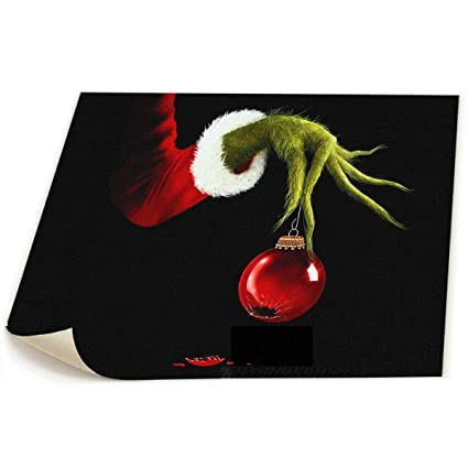 grinch stole christmas office decorations tacky creative 19x22 artist painting the grinch stole christmas print canvas picture art wall poster and living amazoncom