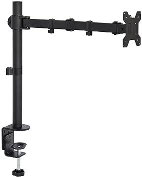 Vivo Single Lcd Monitor Desk Mount Stand Fully Adjustable Tilt