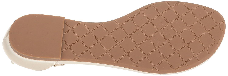 Badgley Mischka Womens Holbrook Flat Sandal