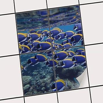 Entzuckend Creatisto Küchenfolie, Küchen Fliesen | Fliesentattoo Küche Bad Fliesenbild  Badezimmerdeko | 20x25 Cm Design