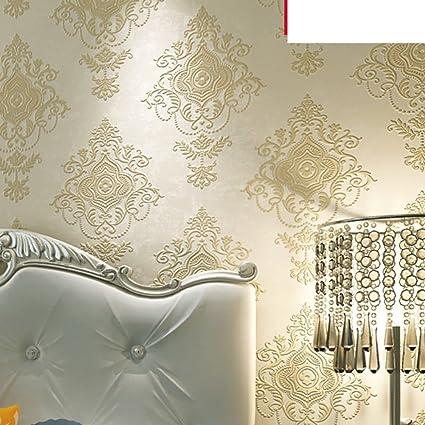 DXG&FX foaming wallpaper master bedroom living room ...