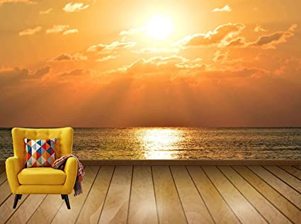 Buy Avikalp Exclusive Awi7725 Sky Sun Sunset Sunbeam