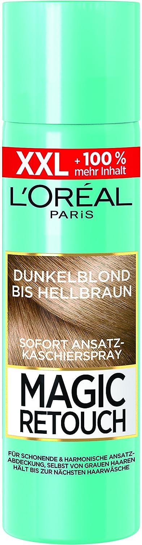 L'Oréal Paris Magic Retouch Ansatz-Kaschierspray, Dunkelblond bis Hellbraun, Sondergröße, 150 ml Sondergröße L' Oréal Paris A93534