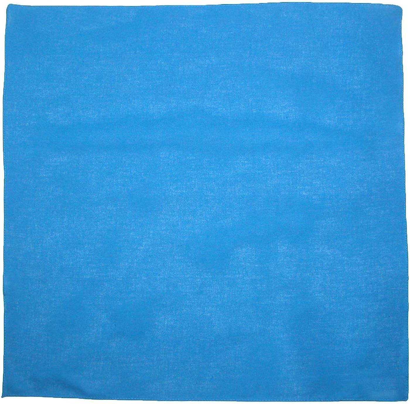 CTM Cotton Solid colour Bandanas