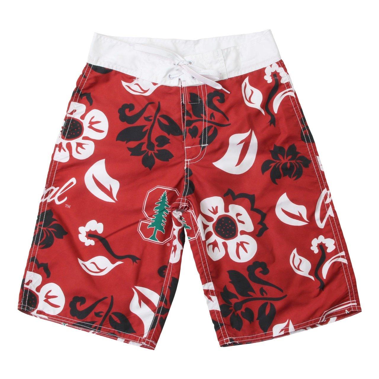 Floral Boardshort//Stanford Cardinals