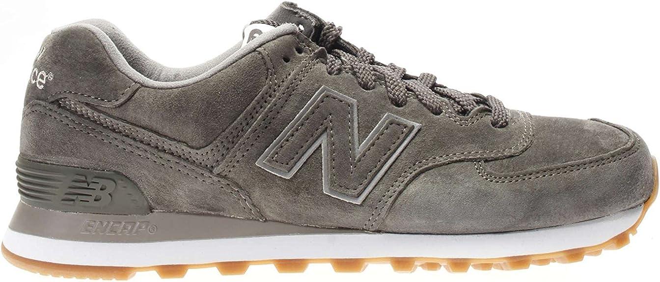 NEW BALANCE ML574 D (13H) 313791-60 - Zapatillas para Hombre , color Gris, talla 8.5: Amazon.es: Zapatos y complementos