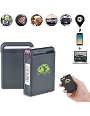 TKSTAR Rastreador GPS Personal, Mini Localizador GPS Dispositivo con SOS otón Alerta SMS Largo Alcance Rastreador GPS TK102B