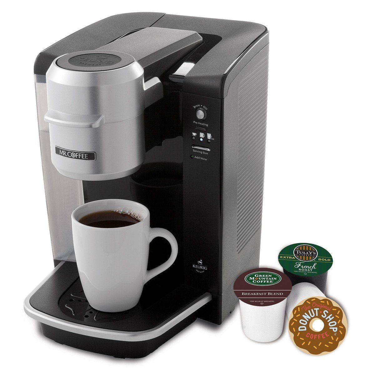 Mr. Coffee Single Serve Coffee Brewer BVMC-KG6-001, 40-Ounce, Black [並行輸入品] B0151STSHG