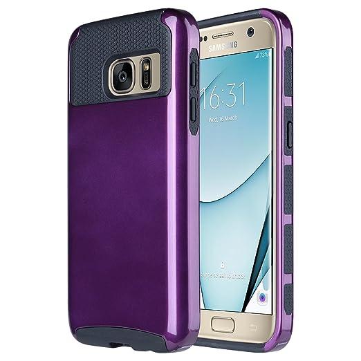 11 opinioni per Samsung Galaxy S7 Cover, ULAK Galaxy S7 Custodia Antiurto Ibrida Duro Morbido