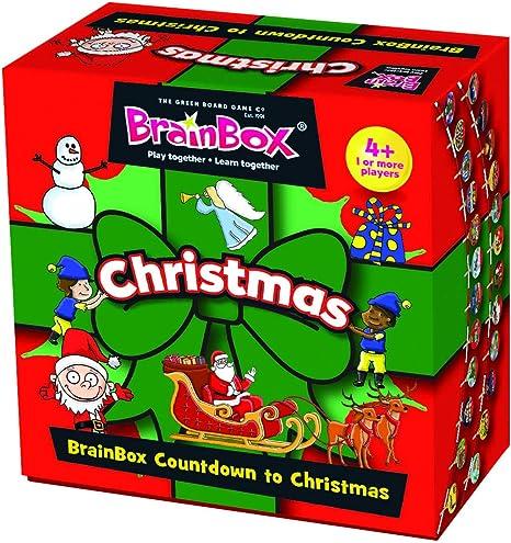 Green Board Games GRE91029 BrainBox Christmas - Caja de Navidad: Amazon.es: Juguetes y juegos