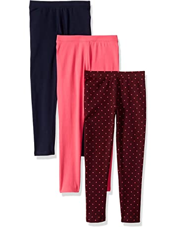 aa78475718a26 Amazon Essentials Girls' 3-Pack Leggings