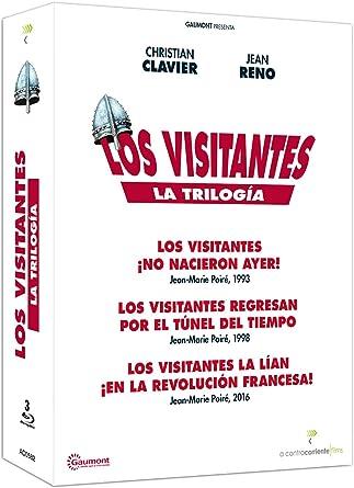 Trilogía Los visitantes [Blu-ray]: Amazon.es: Christian ...
