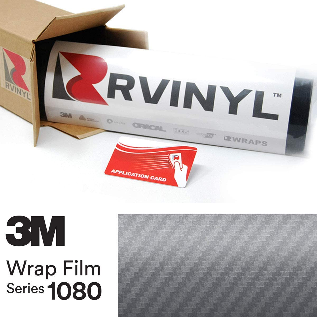 Car Wrap Vinyl Film 10 Sq//ft 3M 1080 CF12 BLACK CARBON FIBER 5ft x 2ft