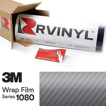 "ft. 3M Scotchprint Carbon Fiber Anthracite Wrap Film 32/""x36/"" 8 sq"