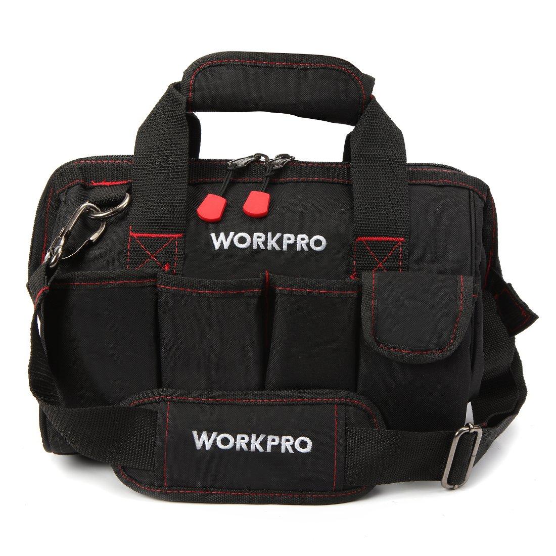 WORKPRO 工具袋 大口収納ツールバッグ