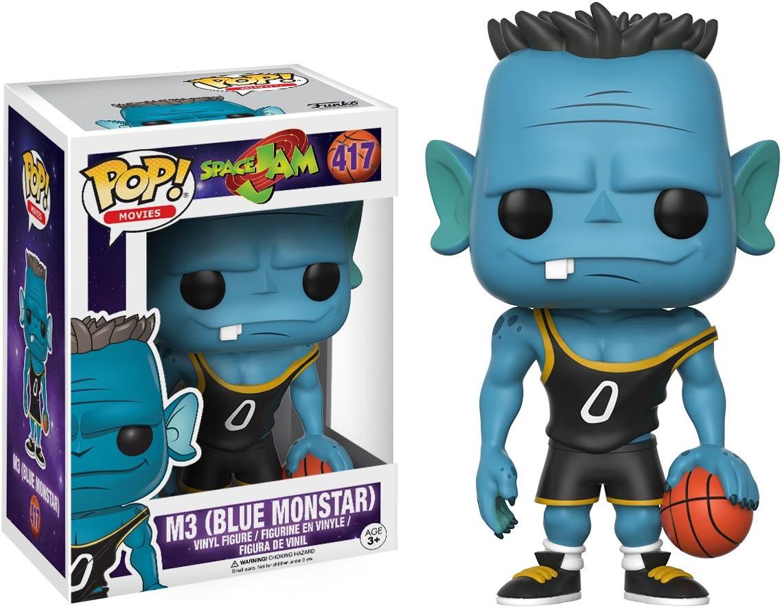 POP! Vinilo - Space Jam: M3 (Blue Monstar): Amazon.es: Juguetes y ...