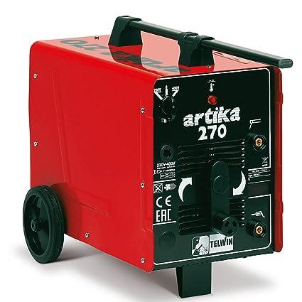 Telwin artika 270 electrodo schw Hielo sgerät hasta 250 A, 230 V/400 V