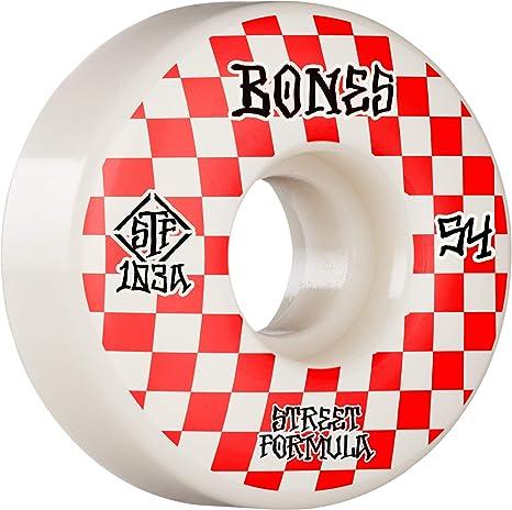 Bones 100s /• #3 /• 54mm /• White /• Sidecut