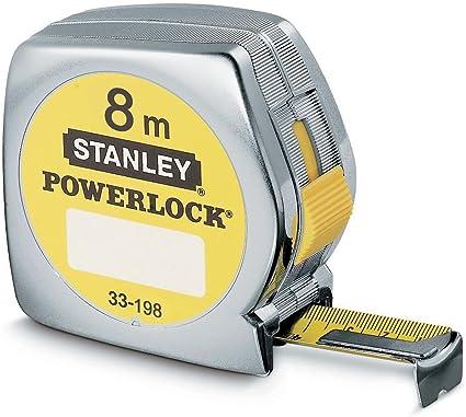0 W 0-33-527 STANLEY Cinta m/étrica 8 m Micro Powerlock Blade Armor 0 V