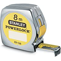 Stanley Cinta métrica Powerlock (Caja sintética), 8 m