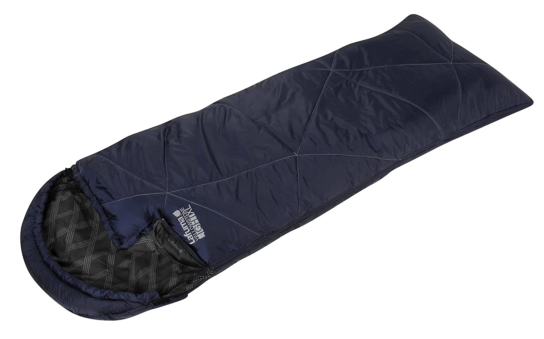 Lafuma Saco de dormir Yellowstone gris y azul Talla:Derecha: Amazon.es: Deportes y aire libre