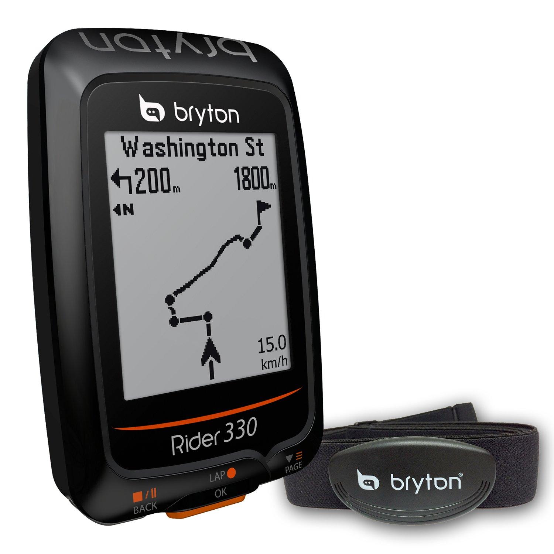 Unbekannt Bryton Rider 330 H GPS-Messgerät, mit Cardio-Sensor