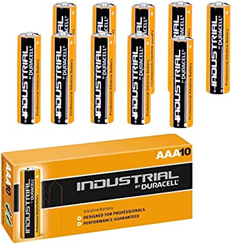 Buy Duracell Industrial Aaa Alkaline Batteries Lr04 Battery Pack Of 10 Best Before 2024 Made In Belgium Online At Low Price In India Duracell Camera Reviews Ratings Amazon In