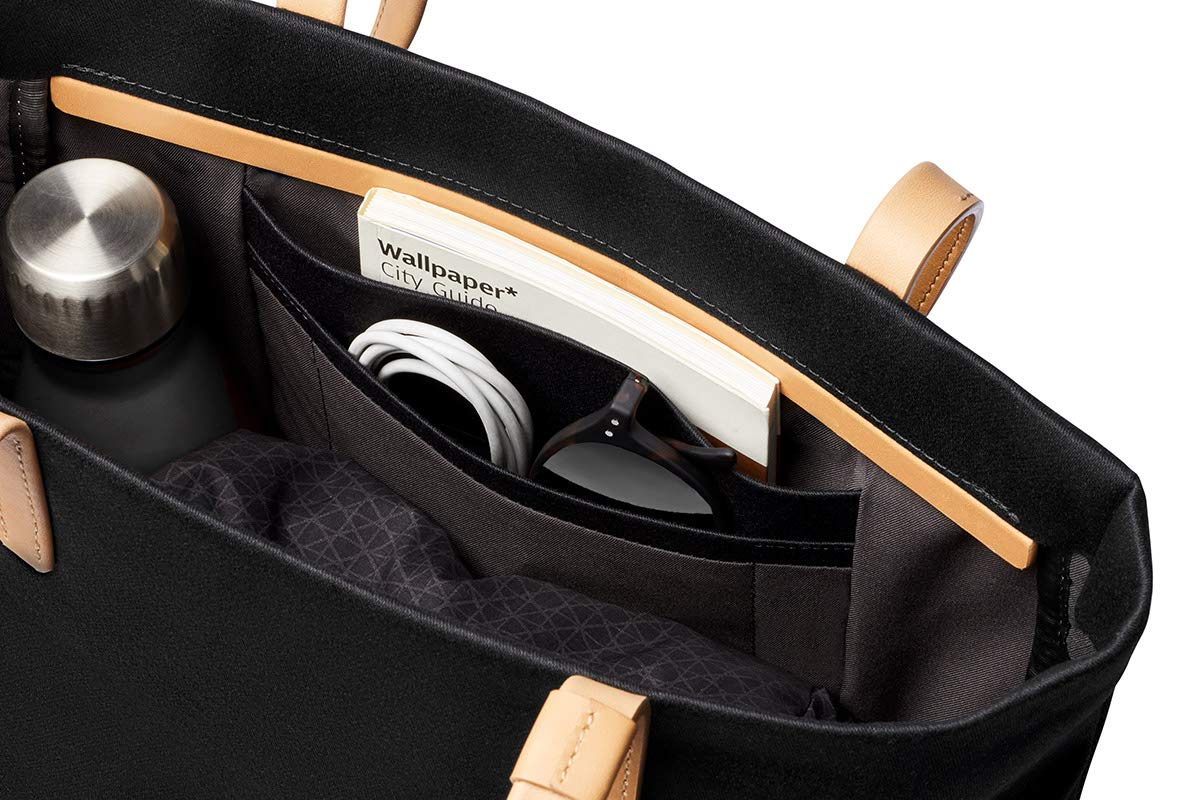 Bellroy Melbourne Tote (13 liters, 13'' Laptop, Personal Items) - Black by Bellroy (Image #3)
