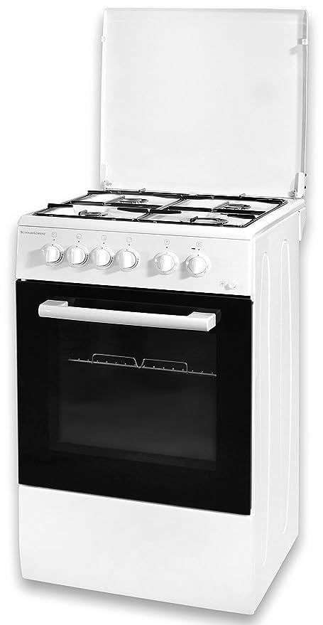 Schaub-Lorenz BSLCG450EW - Cocina de 50 x 50 cm con horno ...