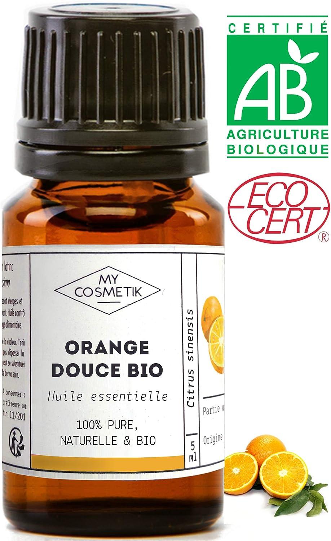 Aceite esencial de Naranja Dulce orgánico - MyCosmetik - 10 ml