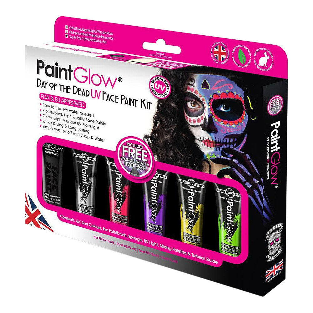 Paintglow UV Day of the Dead Boxset