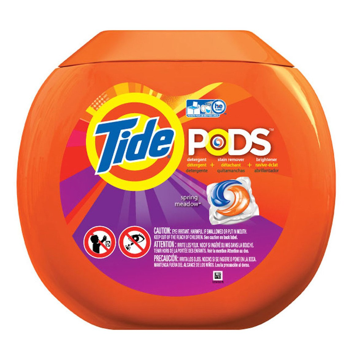 amazon com tide 90 pods count spring meadow scent detergent 80 oz