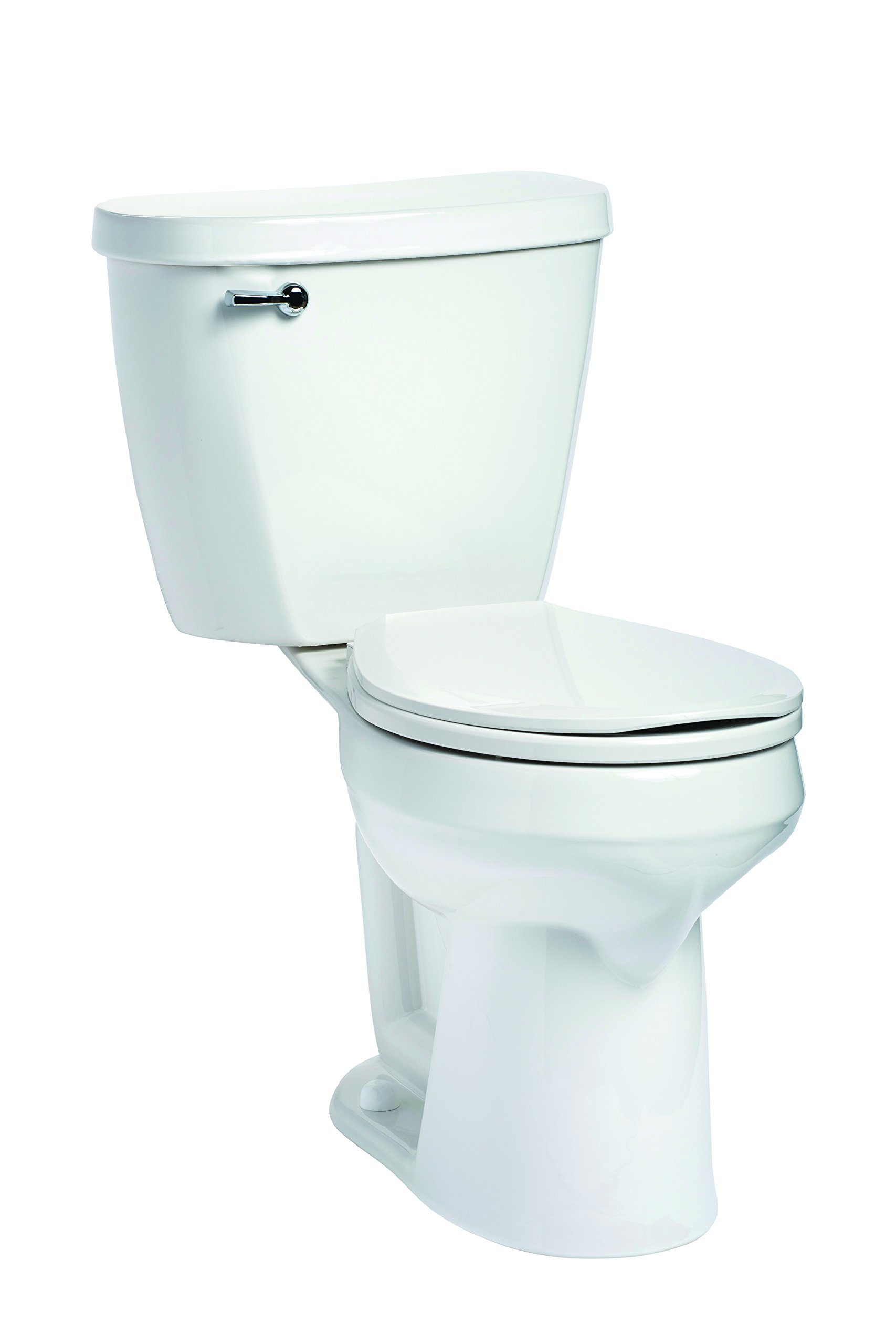Mansfield Plumbing 388.386.WHT Summit Round SmartHeight Toilet, White by Mansfield Plumbing