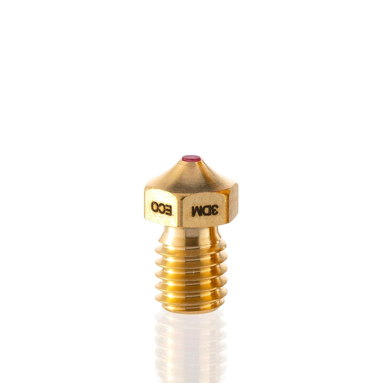 Oscar3D Ruby Nozzle E3Dv6 Design FDM - Boquilla para rubí, 1 ...