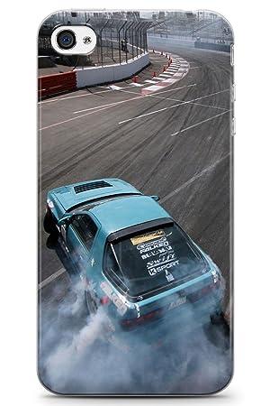 iPhone 4 / 4s Nissan Deriva Funda de Teléfono de Goma Cover Deriva Toyota Estilo Sr20Det Turbo: Amazon.es: Electrónica