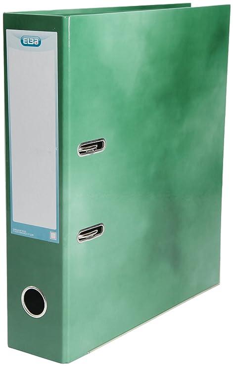 Elba - Archivadores (10 unidades, tamaño A4), color verde