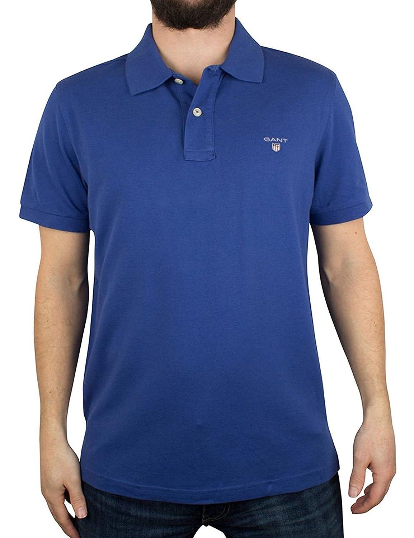 Bleu 4XL Gant - 2201 - Polo - Homme