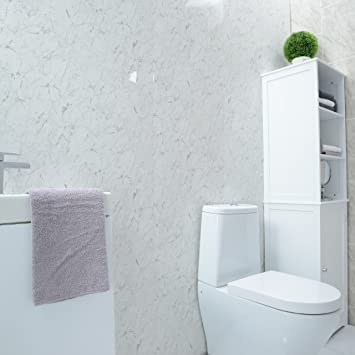 Weiß Marmor Wand Dusche Badezimmer Wand Paneele groß ...
